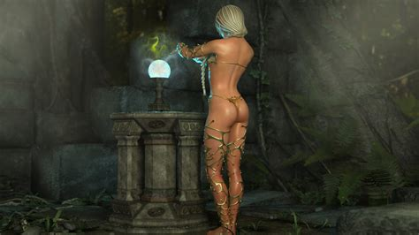 Amazing Collection Of 3d Fantasy Asses On Nude Babes At