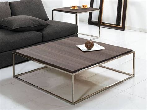 ··· madison square short leg coffee table modern wood oak coffee table set with marble top marble and granite top coffee table. short square coffee-table Lamina