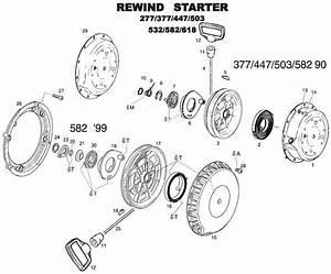 Recoil Starter Wont Rewind