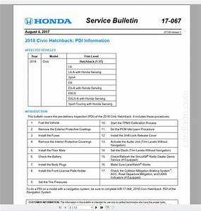 Honda Civic 10th 2016-2019 Service Manual - Homepage