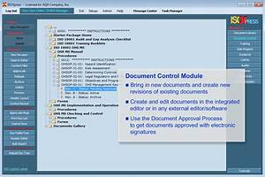 imsxpress iso 14001 and iso 18001 combined software With iso document control software