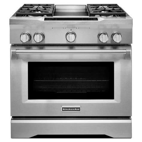 kitchenaid range shop kitchenaid self cleaning convection single oven dual