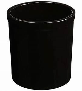 Large Ceramic Kitchen Utensil Holder - Black in Kitchen ...