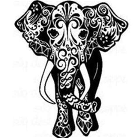 elephant stencil images elephant silhouette