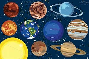 Planets in Order Clip Art - Pics about space
