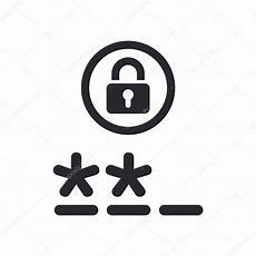 Vector Illustration Of Isolated Password Icon — Stock Vector © Myvector #8817933