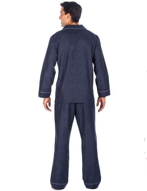s premium 100 cotton flannel pajama sleepwear set relaxed fit noble mount