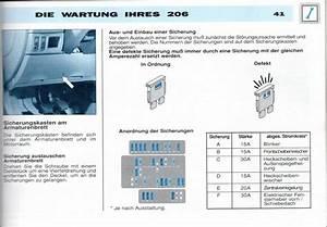 Peugeot 206 Schaltplan Elektrik
