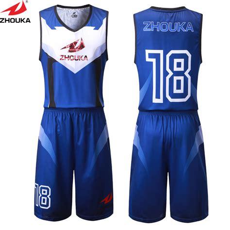 zhouka personal basketball uniform customizingsublimation