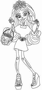 monster coloring pages - free printable monster high coloring pages april 2014
