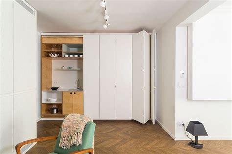 hidden kitchen shelves  space saving features