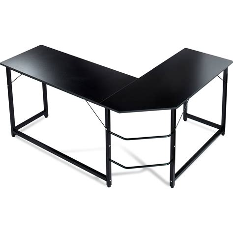 Table L by Luxxetta L Shaped Office Computer Desk Bf Cd10blk B H