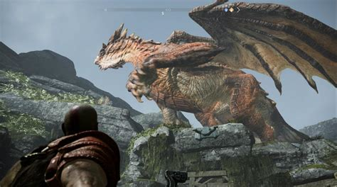 dragones en god  war  donde encontrarlos  como
