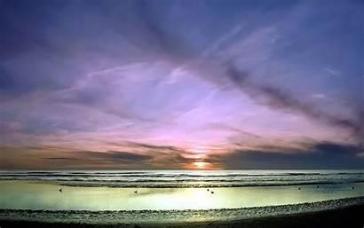 Pastel Sky Horizon Wallpapers Clouds Birds Backgrounds