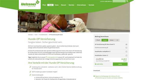 uelzener hunde op versicherung test vergleich