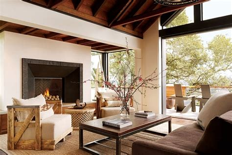 rustic living room design ideas   home