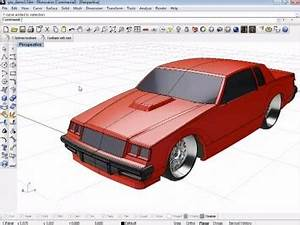 Vehicle modeling with T Splines for Rhino 3D Car Body Design