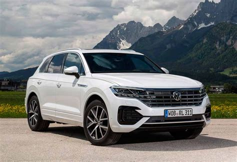 volkswagen touareg  price uk redesign