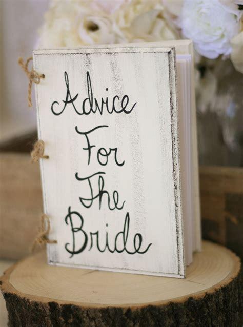 Bridal Shower Guest Book Ideas - bridal shower guest book shabby chic wedding decor custom