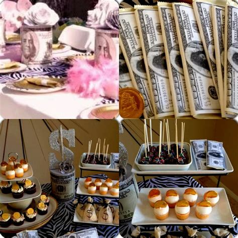 Money Theme Party  Themed Parties  Pinterest 13th