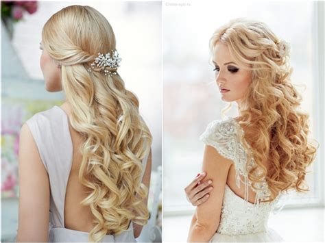 Wedding Hairstyles Down : Top 20 Down Wedding Hairstyles For Long Hair