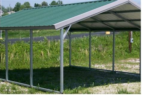 carport steel frame carport