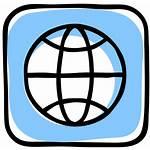 Web Wide Website Icon Earth Social