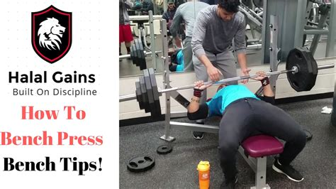 How To Bench Press  Bench Tips Youtube