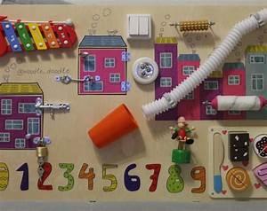 Montessori Spielzeug Baby : busy board baby girl activity board sensor brett montessori p dagogisches spielzeug ~ Orissabook.com Haus und Dekorationen