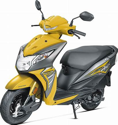 Dio Honda Orange Yellow Bs4 Vibrant India