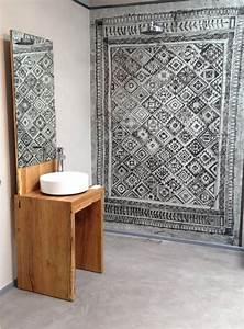 Tapeten Badezimmer Beispiele : die fugenlose dusche trendig und chic farbefreudeleben ~ Markanthonyermac.com Haus und Dekorationen