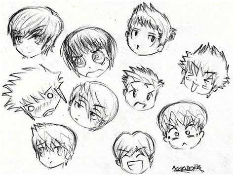 pin  zeizo  art boy hair drawing anime boy hair