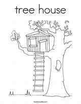Tree Coloring Worship Pages Magic Psalm Anywhere Template Climb Treehouse Colouring Drawing Twistynoodle Houses Outline Sheets Trees Cartoon Cool Built sketch template