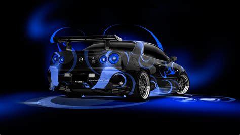 Tony Nissan by Tony Kokhan Nissan Skyline Gtr R34 Jdm Abstract Aerography