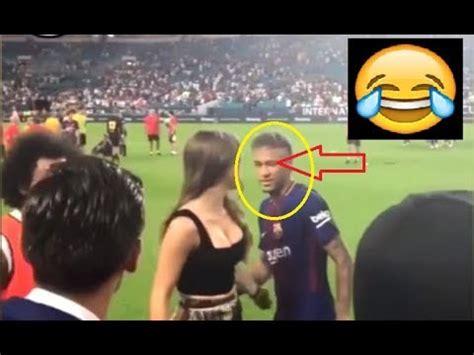 famous football players funny moments  neymar jr