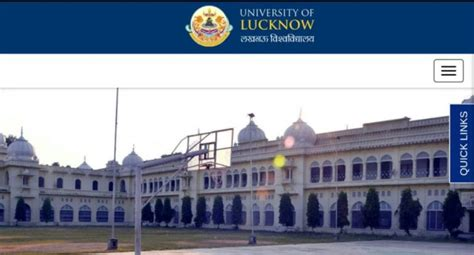 lucknow university upjee bed 2018 online registration