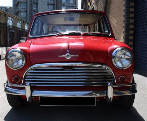 Mk1 Morris Mini Cooper S Front Grille And Headlights