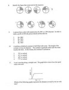 Printable Aptitude Test with Answers