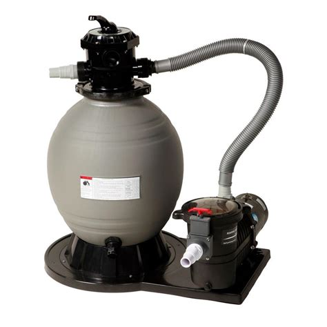 sandfilter für brunnenwasser blue wave 18 in sand filter system with 3600 gph 1 hp for above ground pools ne6150 the