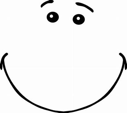 Smile Clipart Clip Vector Cliparts Smiling Eyes