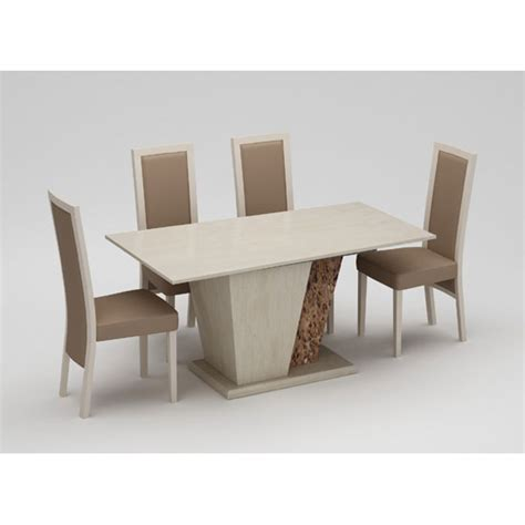 cream marble dining table kati marble effect cream dining table with 6 kati dining