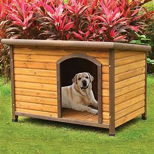 log cabin dog house outdoor weather resistant pet shelter With outside dog shelter