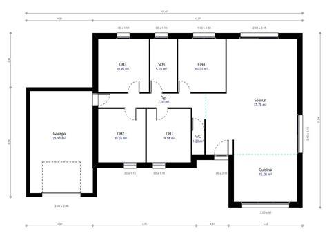 renover cuisine rustique en moderne plan maison individuelle 4 chambres 78 habitat concept