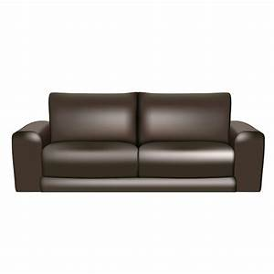 black leather sofa free vector With sectional sofa vector