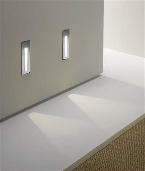 bathroom safe recessed led wall light