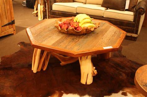 rustic coffee tables enchant  world   simplicity