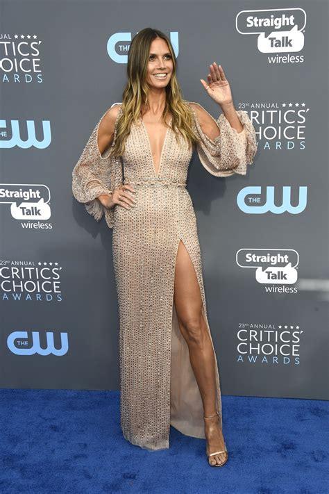 Heidi Klum Critics Choice Awards