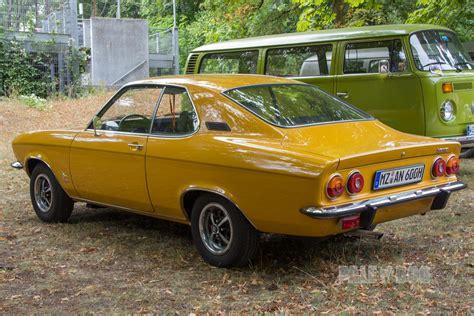 1973 Opel Manta by 1973 Opel Manta 1 9 S Rear View 1970s Paledog Photo