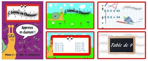 les table de multiplication en chanson les le 231 ons en chansons volume 2 les tables de multiplication le 231 ons en chansons