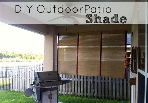 Check spelling or type a new query. DIY Outdoor Patio Shade - Saving The Family Money